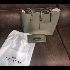 Coach Tote Bag and Wallet